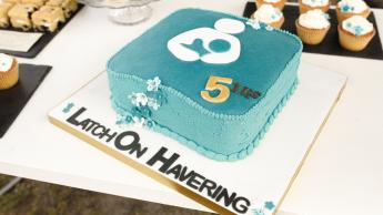 LatchOn 5th Birthday Cake